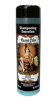 Čierny prírodný šampón s výťažkom z henny - 250 ml