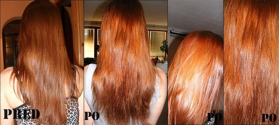 Henna Na Vlasy Medena
