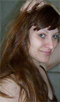 Henna na vlasy - predtým