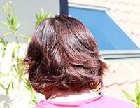 Henna na vlasy - po 4 dňoch