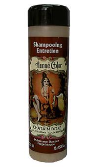 Gaštanový prírodný šampón s výťažkom z henny - 250 ml