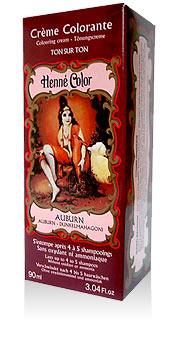 Henna na vlasy krémová - auburn