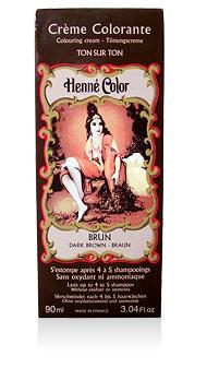 Henna na vlasy krémová - hnedá