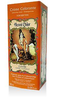 Henna na vlasy krémová - cuivré