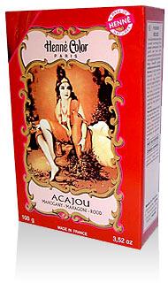 Henna na vlasy prášková-mahagón