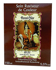 Hnedá maska na vlasy - 150 ml