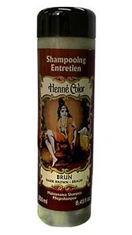 Hnedý prírodný šampón s výťažkom z henny - 250 ml