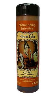 Medený prírodný šampón s výťažkom z henny - 250 ml