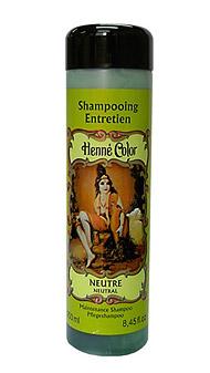Bezfarebný prírodný šampón s výťažkom z henny - 250 ml